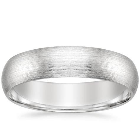 Men's 7mm Matte Comfort Fit Wedding Ring   Brilliant Earth