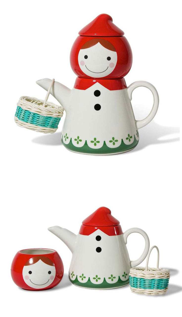 Red Riding Hood Tea Set