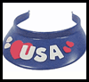Decorated Visors for Kids