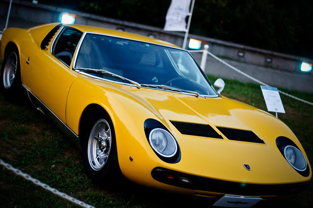 1971 Lamborghini Miura P400S @Tokyo