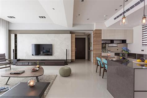 simple  elegant apartment  taipei  hozo interior