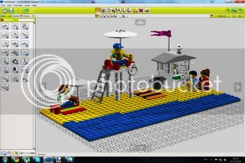 Lego Digital Designer Style Interior Ideas