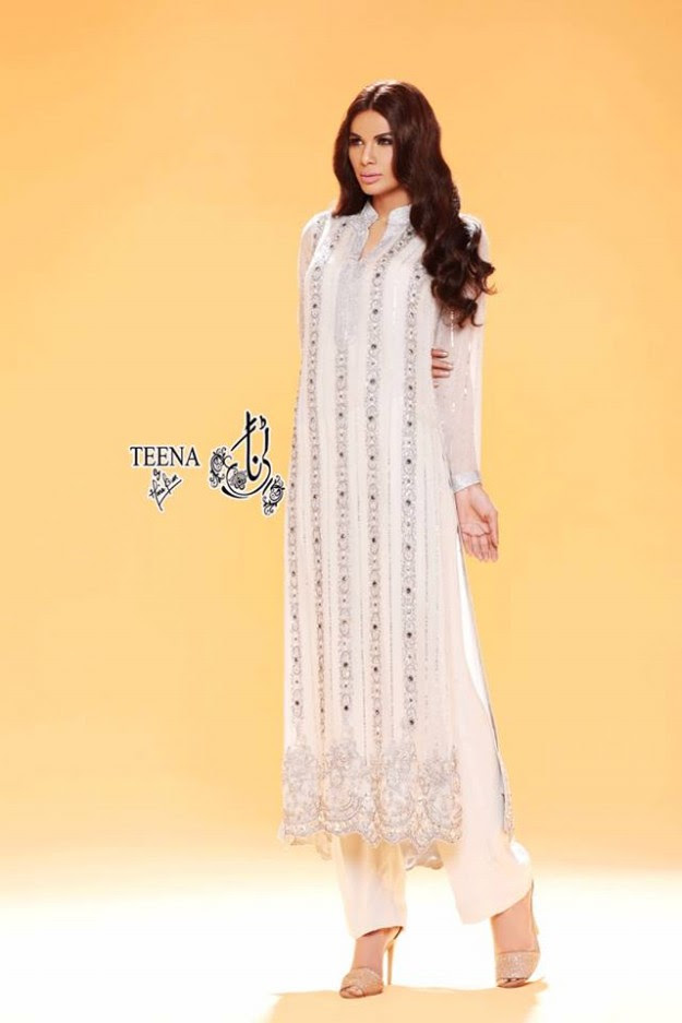 Womens-Girl-New-Fashion-Summer-Spring-Casual-Formal-Party-Wear-Suits-Teena-by-Hina-Butt-10