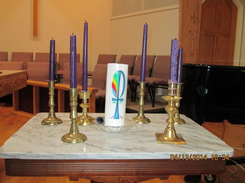 Holy Week at John Street Methodist Church in Camden ...