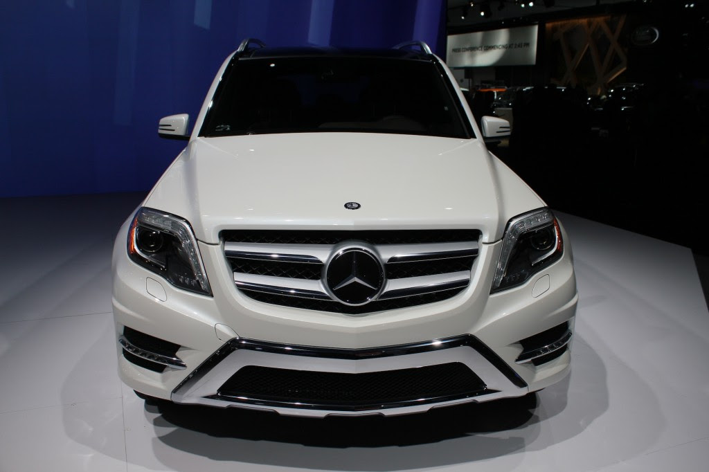 2013 Mercedes-Benz GLK Class Live Photos: 2012 New York ...