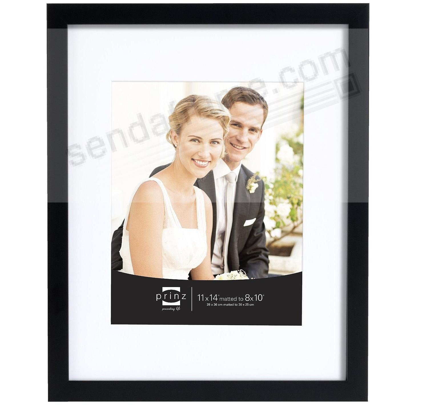 Amazoncom Golden State Art 11x14 Photo Frame With White Mat For