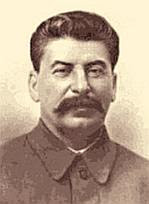 Josef Vissarionovich Dzhugashvili, a.k.a. Stalin