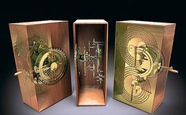 obiecte misterioase, Mecanismul de la Antikythera
