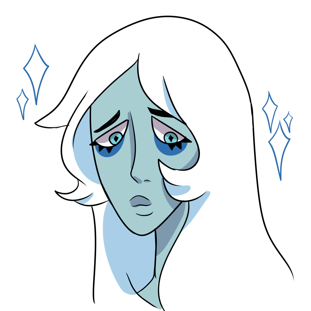 quick doodle of a new fave… i love the blue ones
