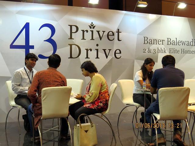 www.43privetdrive.com - Visit Times Property Showcase 2013, 1st &2nd June 2013, JW Marriott, S B Road, Pune