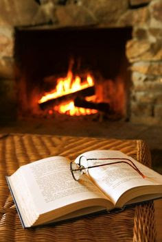 #3 How an autumn day makes me feel - ready to cozy up with a book by the fire.