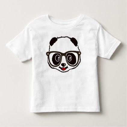 Cute Panda Toddler T-shirt