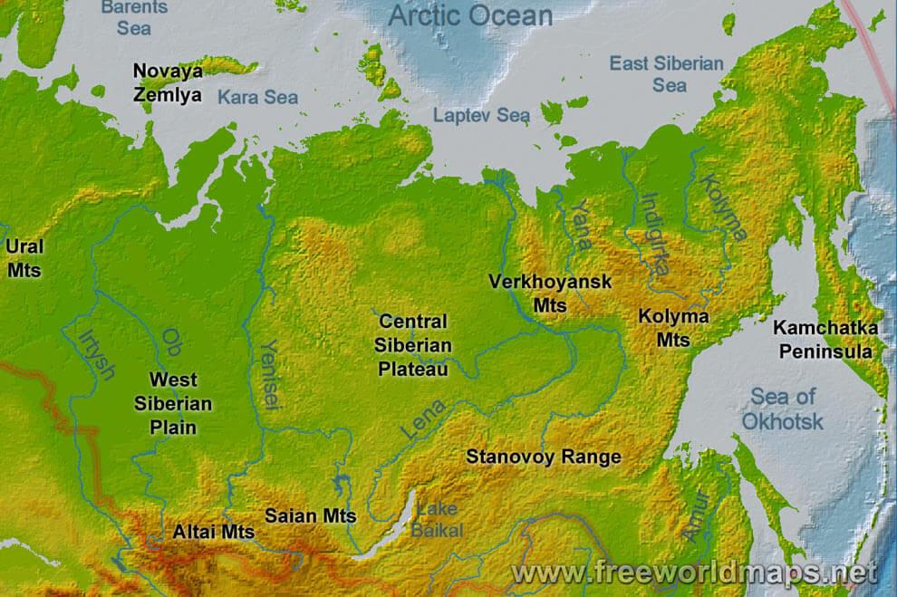 Αποτέλεσμα εικόνας για siberian map