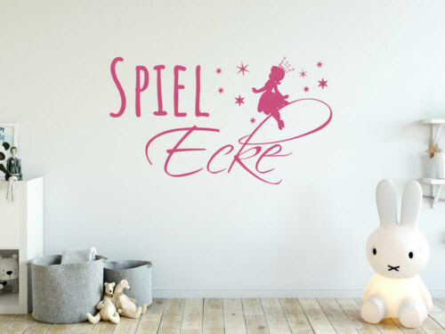 Furniture Stickers Wandtattoo Kinderzimmer Spiel Ecke Fee Spielzimmer Aufkleber Fur Madchen Home Furniture Diy Instituteoffinearts Co In
