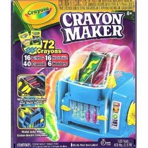 Crayola crayon maker instructions.