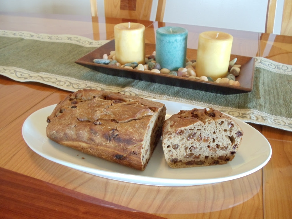 cinnamon raisin bread without yeast