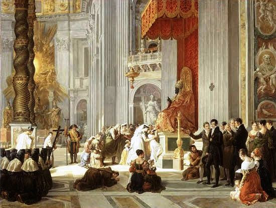 The sound doctrine of the Catholic Church must be repeated down through the Ages