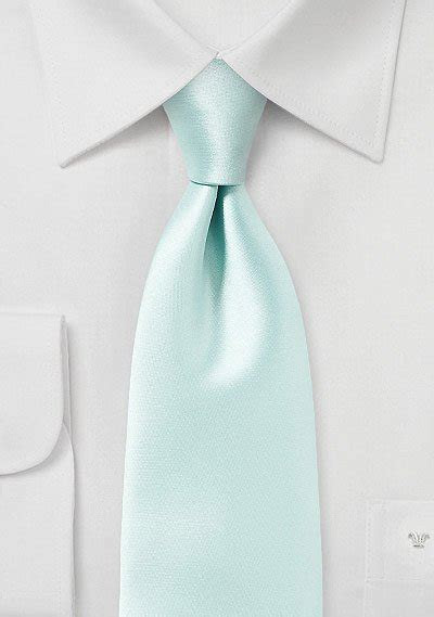 Pale Mint Green Solid Colored Tie   Bows N Ties.com