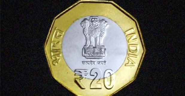 ₹20 coin to be introduced shortly soon; But it won't be round