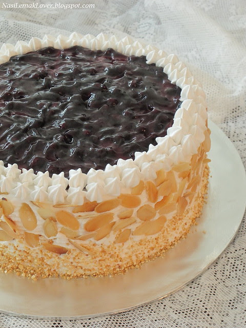 Nasi Lemak Lover A Birthday cake Cotton cheesecake with