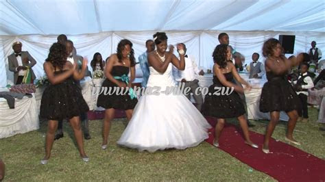 Zimbabwe Wedding Dance   Personally Psquare   Nehanda TV
