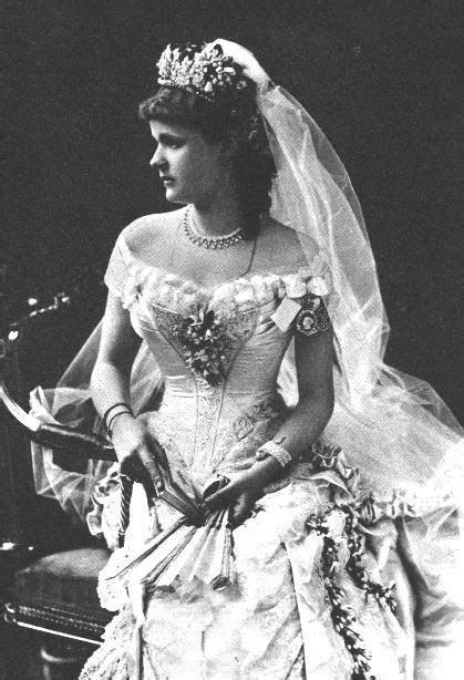 antique wedding photos   1882 wedding photo of Princess