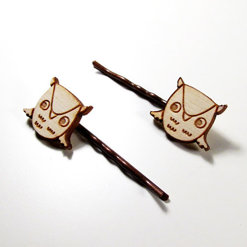 Owl Hairpins 3