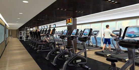 Royal Princess Fitness Center