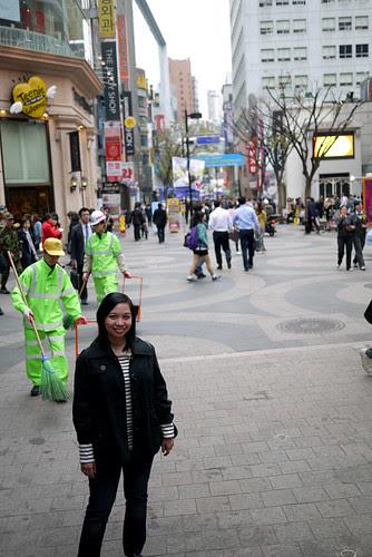 Wanderlust Wednesdays: Shopping at Myeongdong (Seoul, Korea)