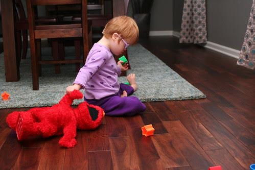 Beating Up Elmo