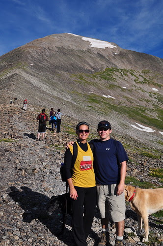 us w. Quandry Peak