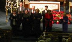 Dad Singing in the Choir