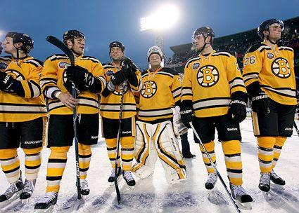 Bruins Winter Classic 2010 jersey, Bruins Winter Classic 2010 jersey