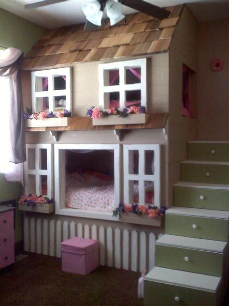 tree house bunk beds  kids homesfeed