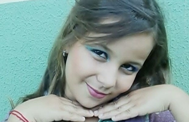 Morre menina baleada ao tentar defender o pai em Aparecida de Goiânia, Goiás (Foto: Reprodução/ TV Anhanguera)