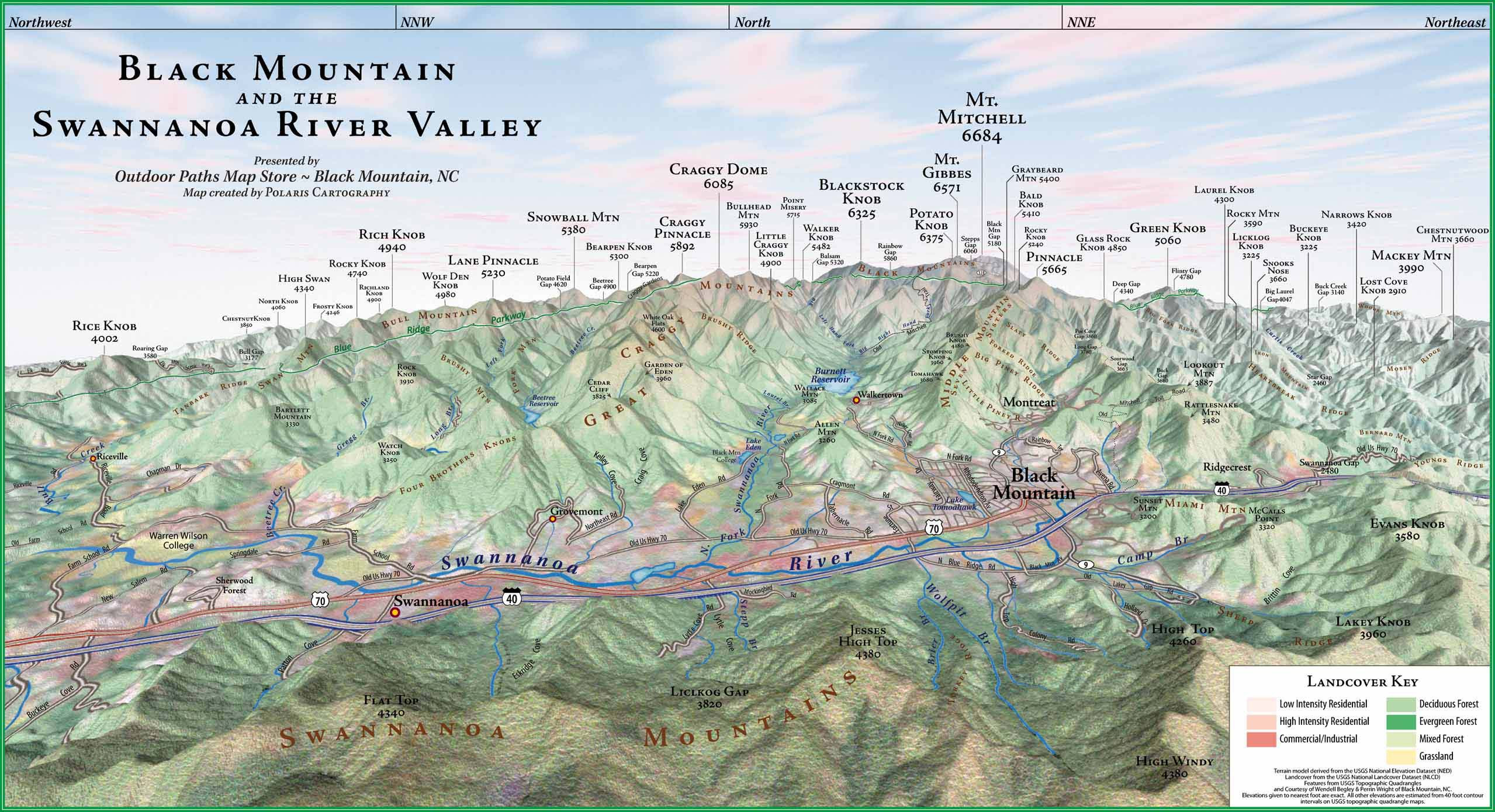 Black Mountain Nc Map | Earth Map