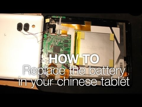 TabletZap: How To Replace Linx 7 8 Tablet Battery