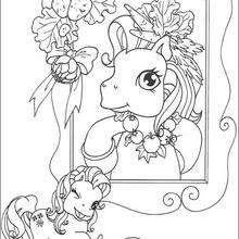 Mi Pequeño Pony Para Colorear 26 Dibujos Gratis Para Imprimir Y Pintar