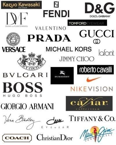 fashion designer logos  names fashion logo design