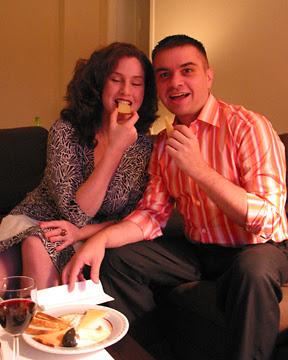 Lila and Chris, New York City, August 2005