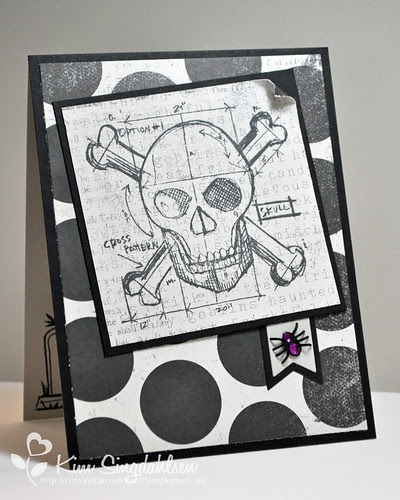 Tim Holtz Skull