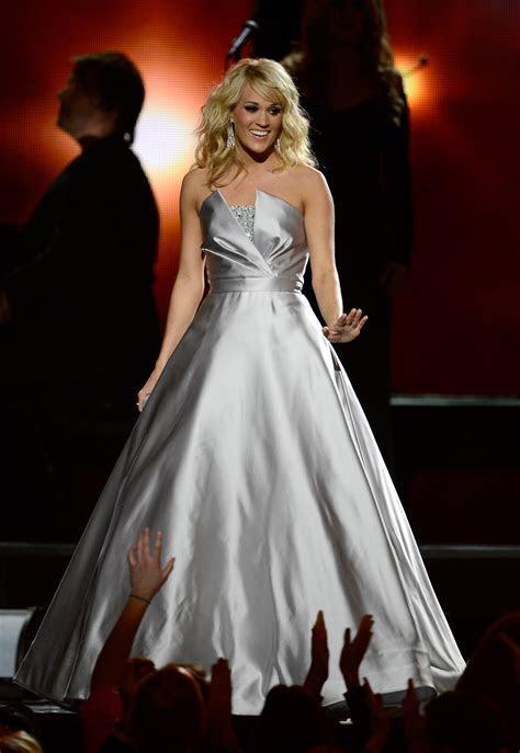 Carrie Underwood's Dress Burst Into A Sea Of Butterflies