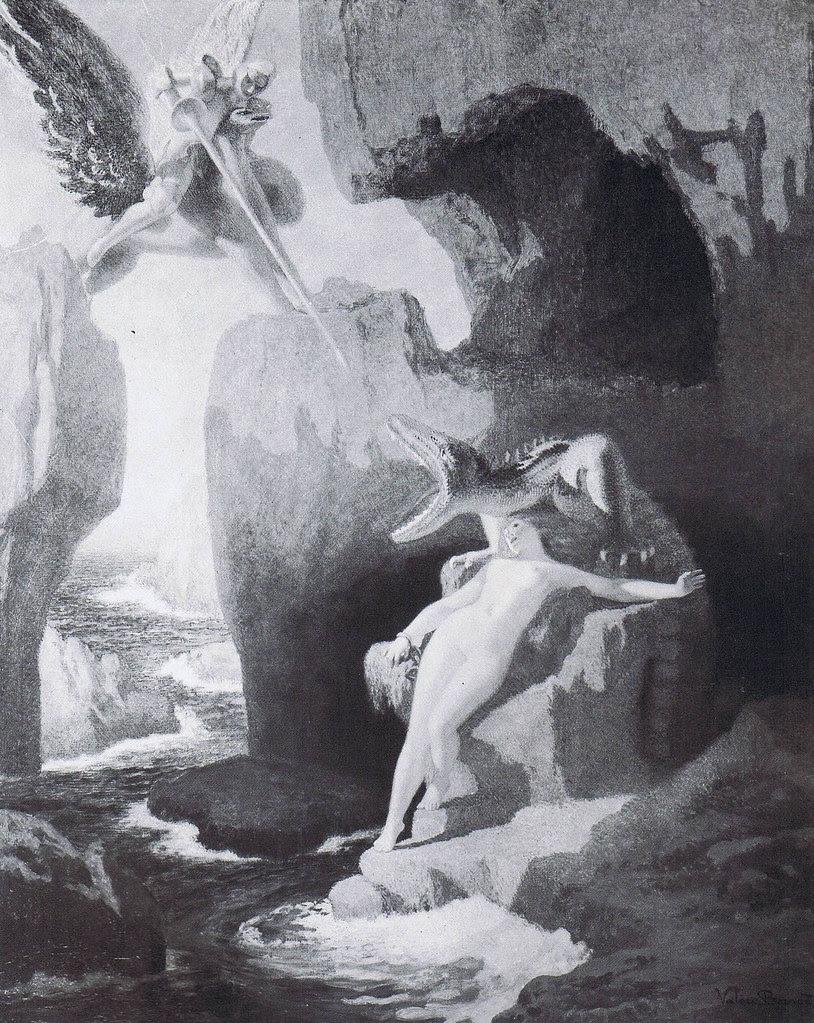 Valère Bernard - Perseus Rescuing Andromeda