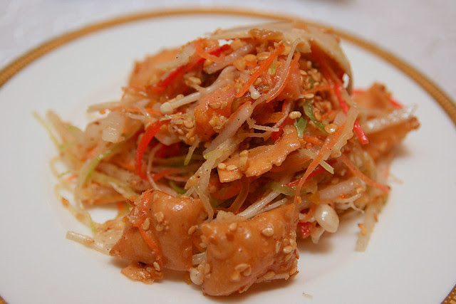 Prosperity Yu Sheng with Snow Pear, Abalone and Salmon
