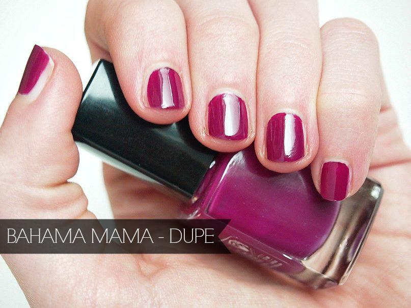 Essie Bahama Mama Dupe