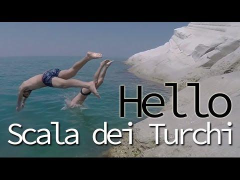 #telaraccontocosi Scala dei turchi (Realmonte- Agrigento) +VIDEO