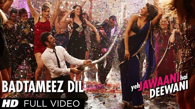 Badtameez Dil Lyrics - Benny Dayal   Yeh Jawaani Hai Deewani