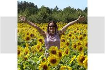 Deb sunflowers