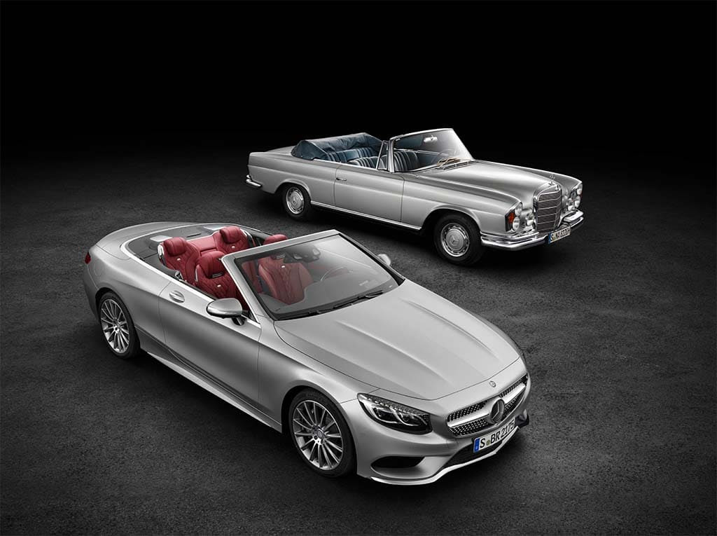 Going Topless, Mercedes Pulls Covers off New S-Class ...