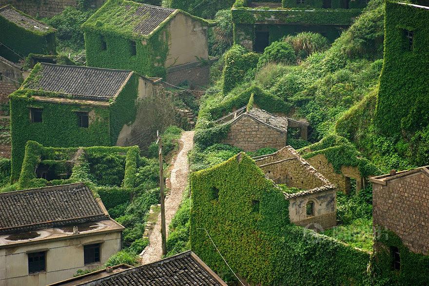 Abandoned Fishing Village, China